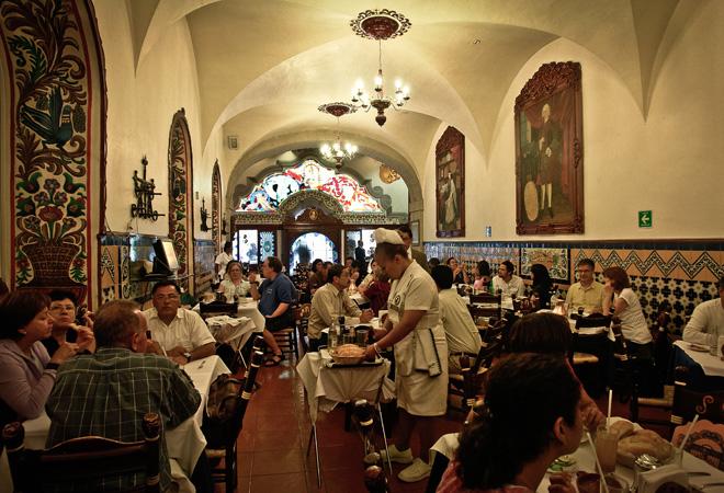 Centro hist rico b sico el caf de tacuba for Cafe el jardin centro historico