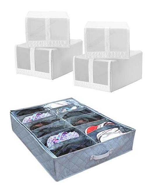 Creando el armario perfecto consejos para organizar tu - Cajas de plastico ikea ...
